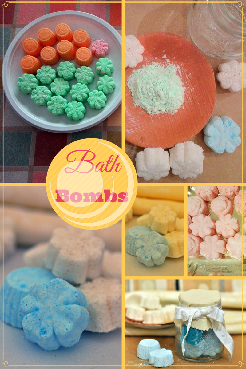 recipe bath bombs