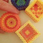 Perler beads - bomboniere con perline da stirare